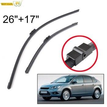 Misima Windshield Windscreen Wiper Blades For Ford Focus MK 2 2004 - 2011 Front Window Wiper 2005 2006 2007 2008 2009 2010
