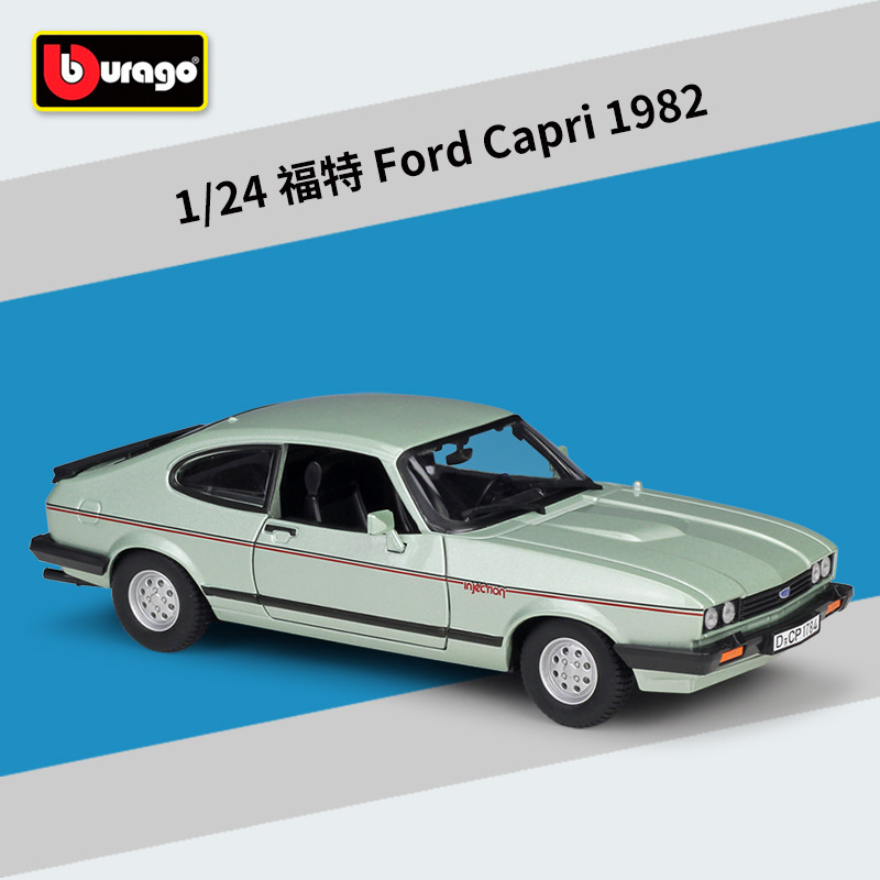 Bburago 1:24 1982 Ford Capri Alloy Car Model Decoration Collect Gifts Toy