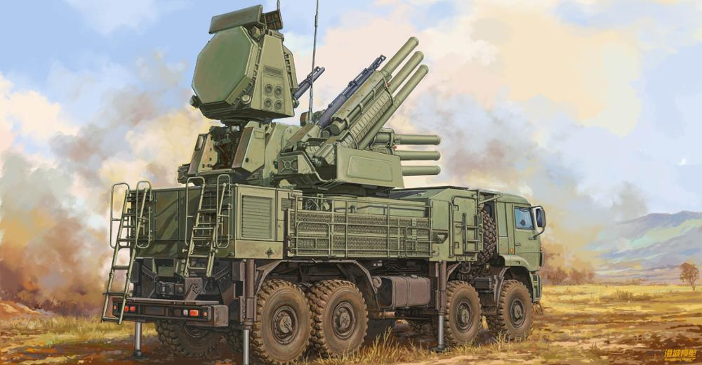 Trumpeter 01061 1/35 Scale Russion 72V6E4 Combat Unit Of 96K6 Pantsir-S1 ADMGS