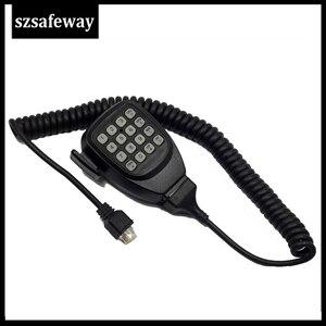 Image 3 - KMC 32 Two Way Radio Speaker MIC With RJ45 8 Pins Microphone For Kenwood Mobile Radio TK768G/TK868G/TM271/TM471/TK7160E