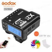 Предпродажа, беспроводной триггерный передатчик Godox X2T-N TTL 1/8000s 2,4G для камер Nikon DSLR и Godox V1N TT350N TT685N V860IIN
