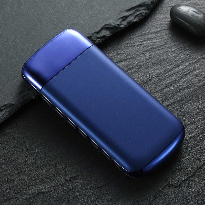 Untuk Xiao Mi Mi iPhone 7 8 XR 11 30000 MAh Power Bank External Battery Poverbank 2 USB LED Powerbank Portable charger Ponsel
