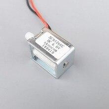1 шт. электромагнитный клапан постоянного тока электронный монитор микро выпускной клапан DC6V нормально закрытый