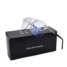 Очки с защитой от синего света для мужчин и женщин квадратная