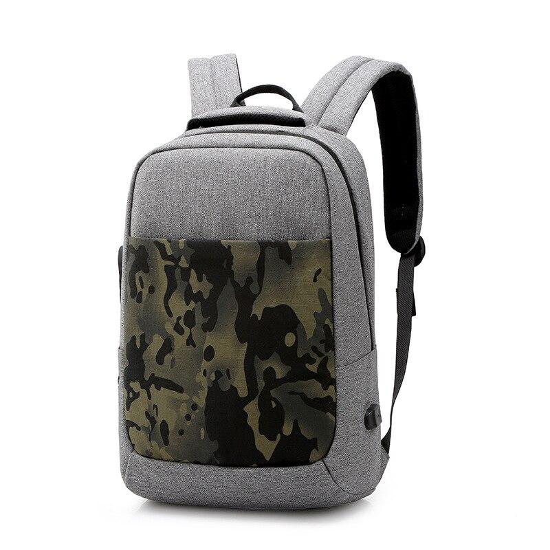 Sac à dos de sécurité de voyage à la mode sac à bandoulière de mode pour hommes sac d'ordinateur de loisirs