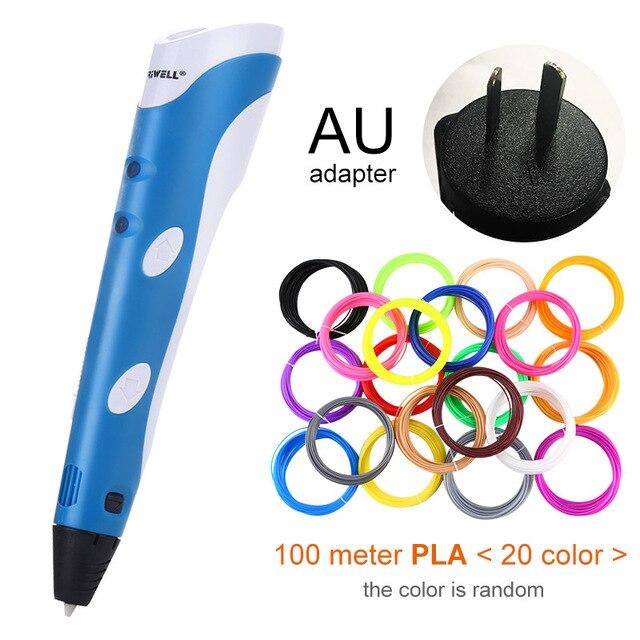 Blue AU-100m PLA