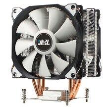 4 HeatPipes CPU Cooler RGB 120mm PWM 4Pin 3Pin Fans PC Quiet For Intel X79 X99 Motherboard radiator X299 CPU Heat Sink  CPU FAN