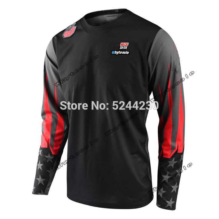 Koszulka mtb dh koszulka motocross koszulka zjazdowa mujer mx gro koszulka rowerowa kolarstwo enduro maillot ciclismo hombre