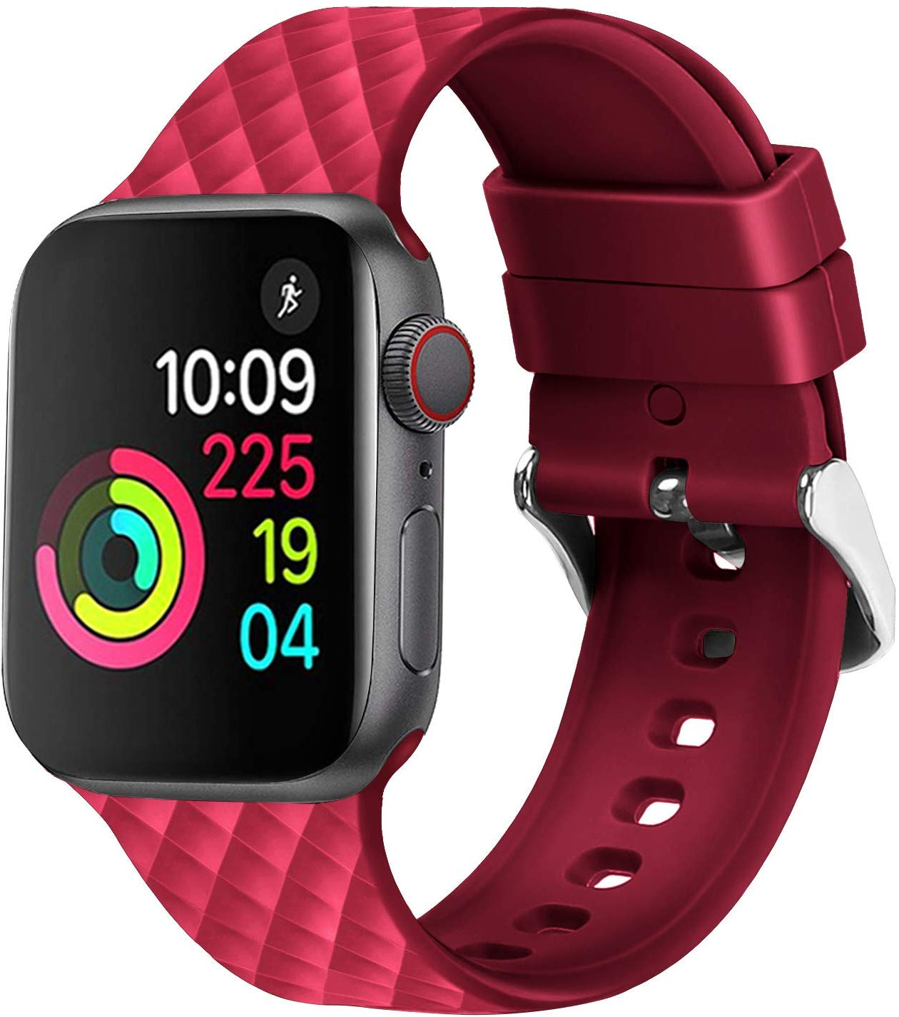 Strap For Apple Watch Band 4 5 44mm 40mm Sport Silicone Watchband Iwatch 3 2 1 42mm 38mm Bracelet Belt Apple Watch Accessories