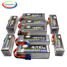 2S 3S 4S 6S 7.4V 11.1V 14.8V 22.2V 1300 1500 1800 2200 3500 4200 5200 6000mAh 30C 40C 60C RC Toy LiPo Battery RC Airplane Drone