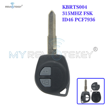 цена на Remtekey Remote key for Suzuki SX4 ID46 315mhz HU133 KBRTS004 2 button