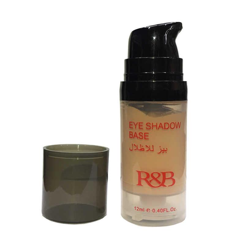 R & B 12 مللي لتقوم بها بنفسك الجمال عينيه التمهيدي ماكياج العين قاعدة كريم السائل ظلال العيون التمهيدي يشكلون النفط السيطرة طويلة الأمد مستحضرات التجميل