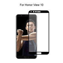 Tempered Glass For Huawei Honor View 10 V10 Full Cover Screen Protector Protective Tempered Glass For Huawei Honor View 10 glass for huawei honor view 30 pro tempered glass full cover glue screen protector for huawei honor view 30 for honor v30 glass