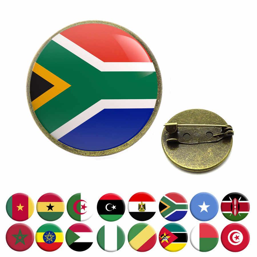 Nazionale Bandiera Spille Egitto Del Sud Africa Somalia Kenya Cog Nigeria Sudan Marocco Algeria Ghana Tunisia Spilla Spilli Gioielli