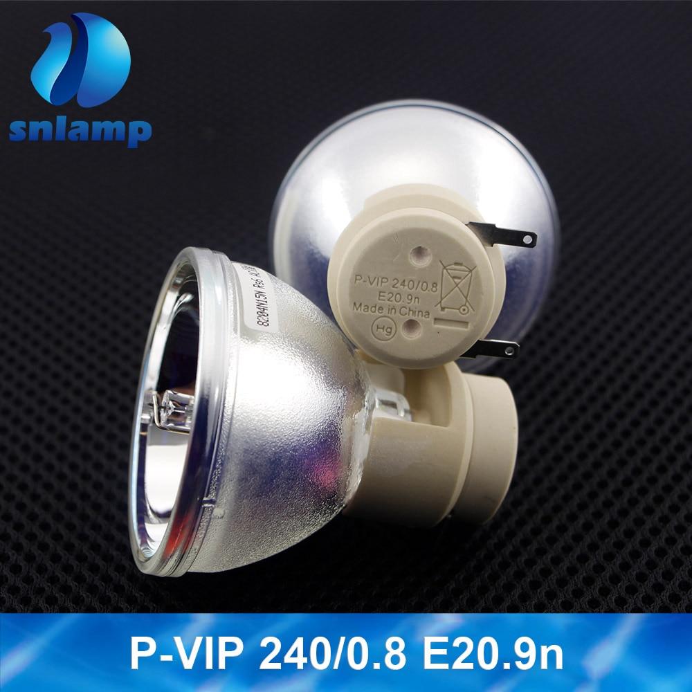 100% NUOVO Originale 5J. JEE05.001 Lampada Del Proiettore Della Lampadina P VIP 240/0. 8 E20.9 per BenQ W1110/W2000/HT2050/HT3050/W1400/W1500 - 5