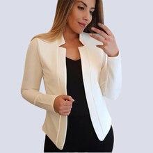 Women Blazer Spring Fashion Office Wear Coat Plus Size 5XL Chaqueta Mujer