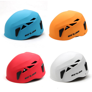 GUB High Quality Climbing Helmet ABS Outdoor Breathable Bicycle Helmet Expansion Caving Rescue MTB Bike Helmet Safety Equipment