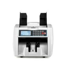 Multi moeda uv mg mt frente display lcd falso detector de dinheiro com funil ajustável contador de conta de dinheiro HS-920