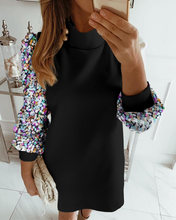 Женские модные элегантные вечерние Свободные мини платья для