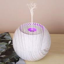 Olejek eteryczny do nawilżacza dyfuzor aromaterapia ultradźwiękowa oczyszczacz powietrza do domu Mist Maker rozpylacz zapachów Fogger Led Light