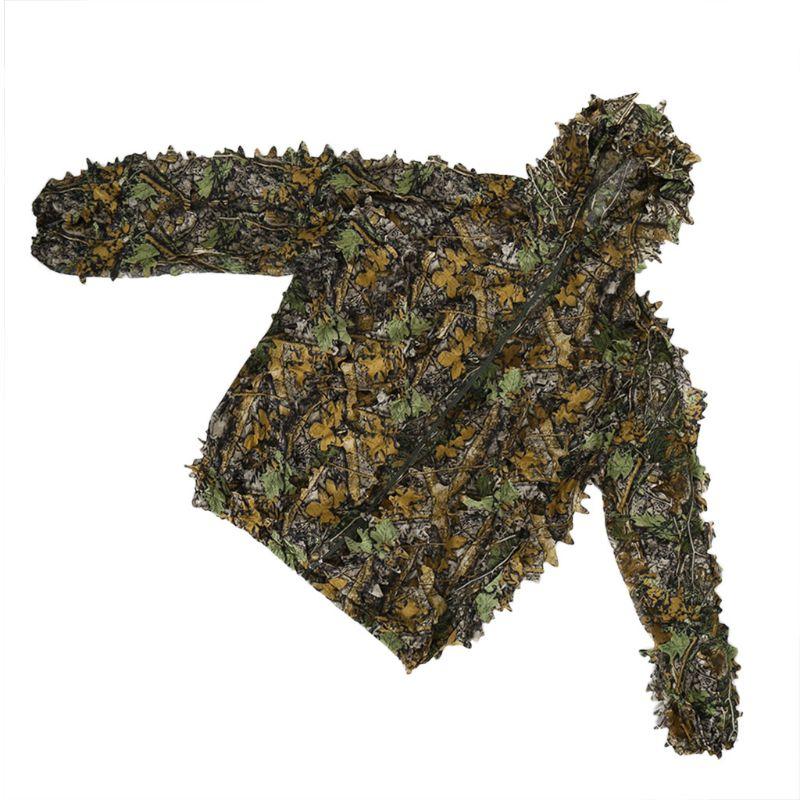 1 conjunto de roupas caça 3d folha