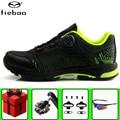 TIEBAO обувь для отдыха и велоспорта набор педалей SPD мужские кроссовки для горного велосипеда самоблокирующиеся sapatilha ciclismo mtb обувь для езды н...