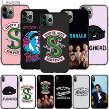 Riverdale South Side Serpents Harte Telefon Fall für iPhone XR X XS 11 Pro Max 10 7 8 6 6S 5 5S SE Abdeckung(China)