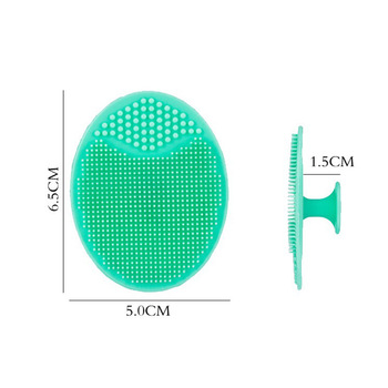 Silicone Cleansing Brush Washing Pad Facial Exfoliating Blackhead Face Cleansing Brush Tool Soft Deep Cleaning Face Brush TLSM2 1