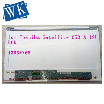 Replacement for Toshiba Satellite C50-A-19U Screen LCD Matrix for Laptop 15.6 HD 1366*768 LED Display