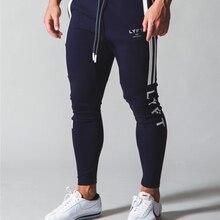 Side Stripe 2020 JP&UK New Autumn Men Gym Training Jogging Pants Men Joggers Slim Fit Sweatpants Cotton Running Sport Pants