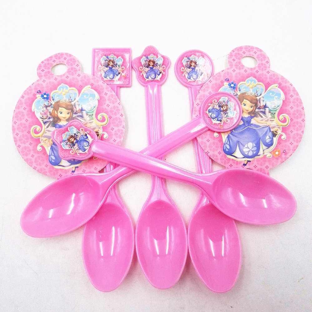 82 adet prenses Sofia çocuklar doğum günü partisi tabaklar bardaklar dekorasyon prenses Sophia tema parti malzemeleri bebek doğum günü partisi paketi