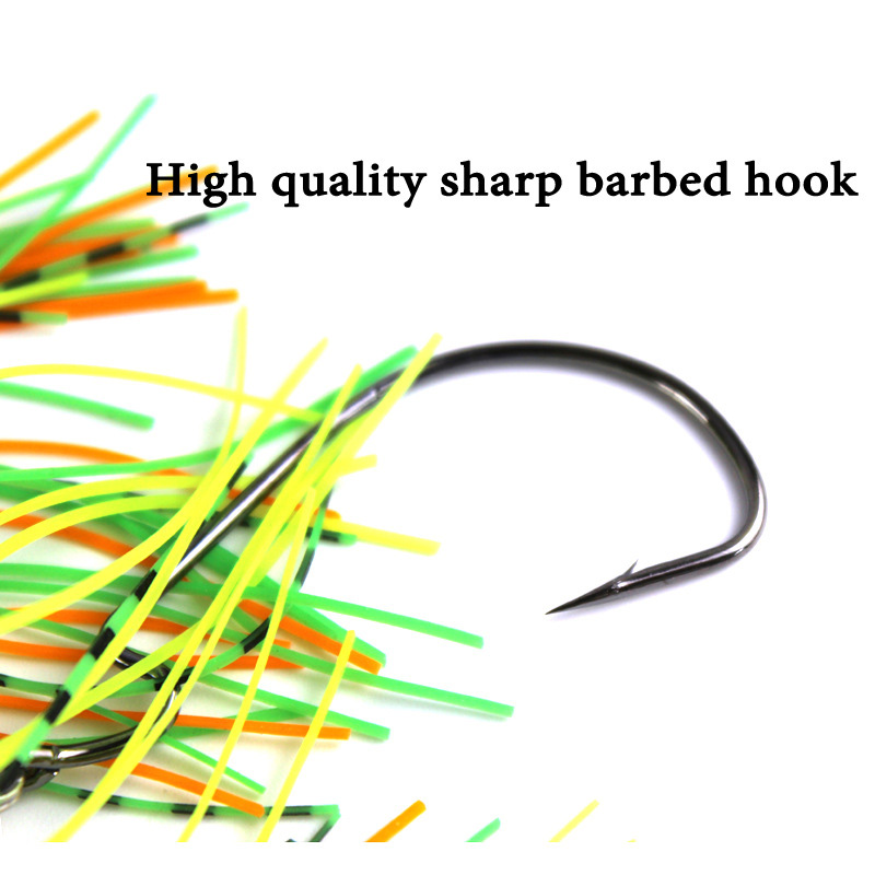 20g spinner bait fishing lure Buzzbait chatterbait wobbler isca artificial rubber skirt Chatterbait for bass pike walleye-3