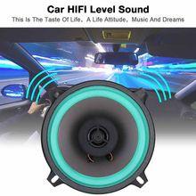 Alto-falante coaxial do carro 5 Polegada alto-falante de áudio estéreo subwoofer alto falantes de freqüência gama completa alta fidelidade