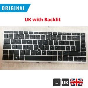 Image 5 - Yeni orijinal abd İngilizce klavye için HP EliteBook 840 G5 846 G5 745 G5 fare noktası arkadan aydınlatmalı/olmayan arkadan aydınlatmalı Laptop klavye