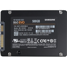 SSD накопитель SAMSUNG 860 EVO MZ-76E500BW 500Гб