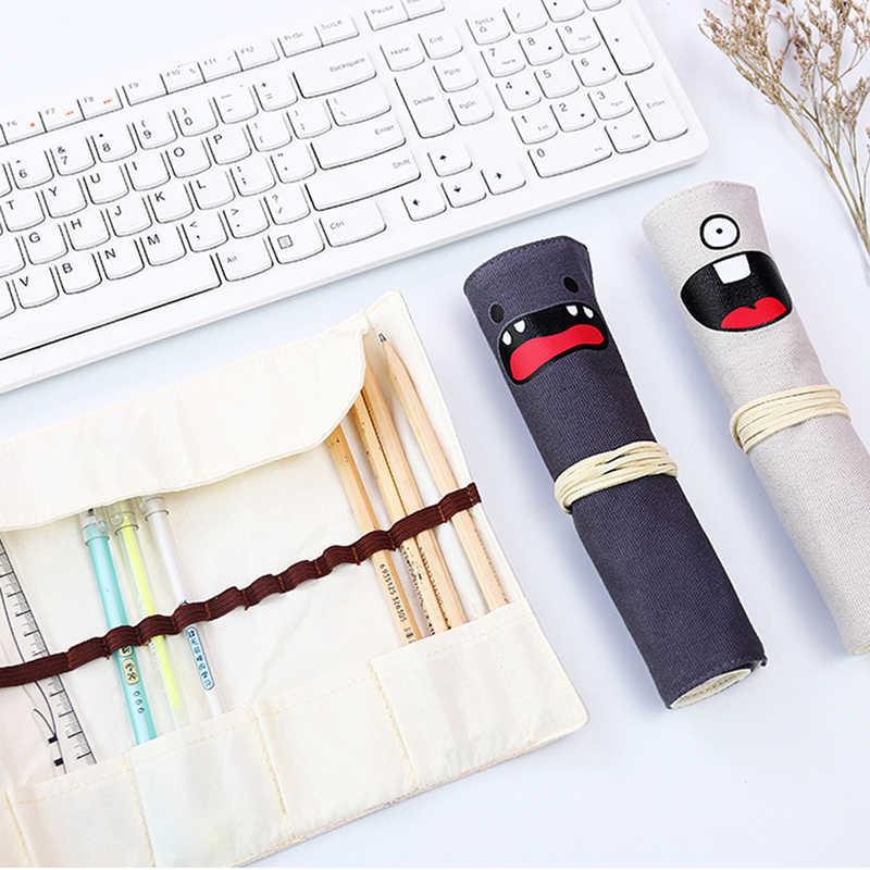 Creative בית ספר קלמר נפח קלמר בד חמוד עיפרון תיק בית ספר אספקת בית משרד אחסון אביזרים