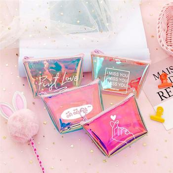 2020 Fashion Womens Lady Kid Coin Wallet PVC Small Mini Pouch Zipper Money Key Earphone Line Holder Purse - discount item  50% OFF Wallets & Holders
