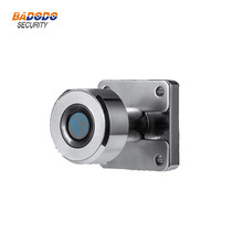 Zinc alloy Keyless Mini Fingerprint cabinet lock biometric electric lock for cabinet drawer strongbox(China)