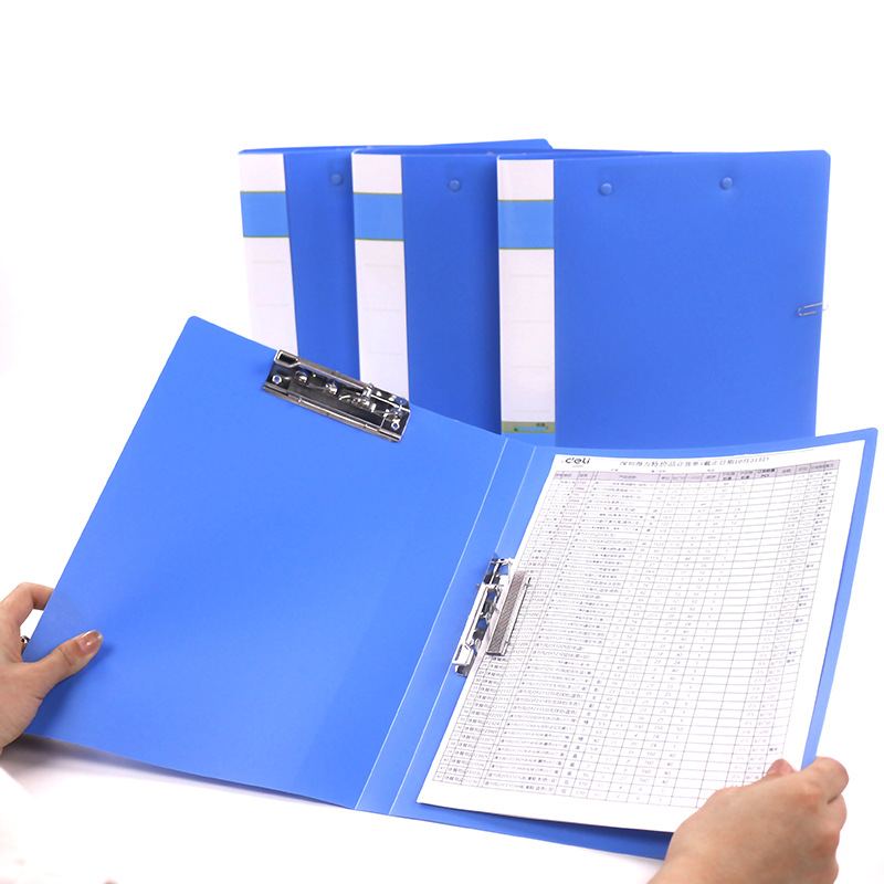 1pcs Simple Practical Office Filing Products Stainless Steel A4 File Folder For Students Daily Office School Supplies
