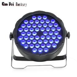 54*3W RGB 3in1 LED par KAN VERLICHTING voor STUDIO club party stage KTV dance bar
