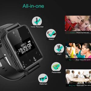 Image 2 - Draagbare Digitale Voice Recorder Stereo Audio Opname Smart Armband Horloge Stappenteller Hifi Loseless MP3 Speler V81