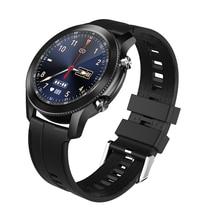 Nowy A10 inteligentny zegarek odtwarzacz muzyczny IP68 wodoodporna sport wymiarowe metalu zębów wzór wygląd zegarki męskie 2021