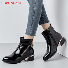 Black zipper Ankle boots for women low heel boots Ladies Round Toe spring autumn Casual Short boots shoes blue Wine red ladies suede comfort low heel ankle boots fashion zipper pointed toe fall winter bootie black red orange