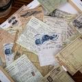 Винтаж завод Иллюстрированный бумага из блакнота для бумаги для заметок на клейкой основе ретро блокнот дневник в стиле Скрапбукинг наклей...