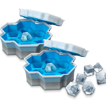 Ice Dice Cube Tray Shaped 7pcs Ice Cube Mold Food Grade Flexible Silicone Ice Molds For Whiskey Cocktail Dungeons&Dragons