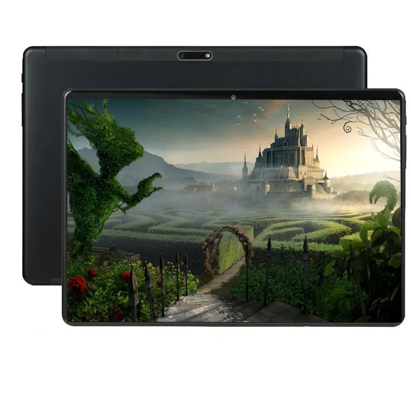 128GB Android 9.0 tablette 8 Octa Core 3G multi-touch écran IPS 5MP carte SIM tablette ips 10 pouces Android costume tablette pc support pour voiture