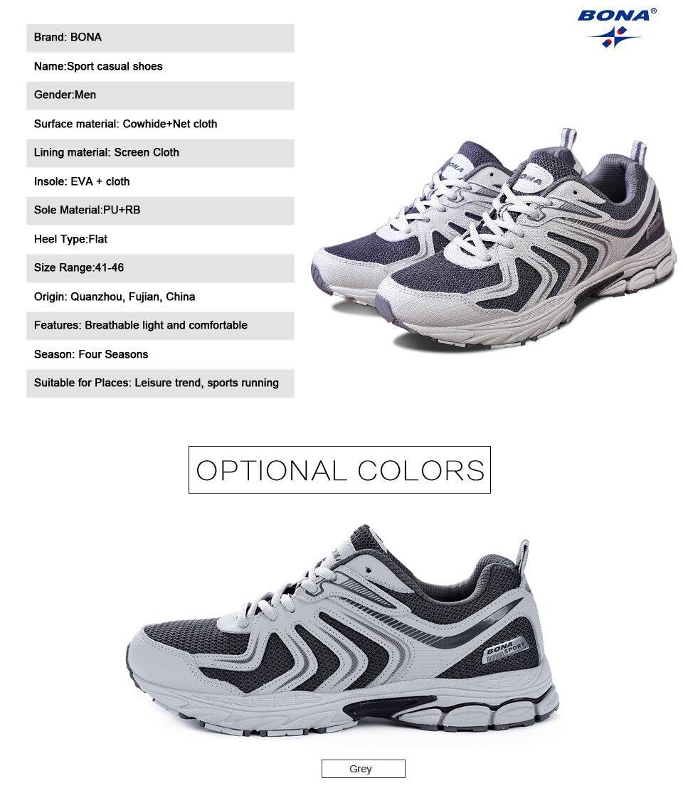 H16d6b903b2004349ac88619aa4f54a6dX BONA New Fashion Style Men shoes Casual Shoes Men Loafers Men Outdoor Sneakers Shoes Mesh Men Flats Free Shipping