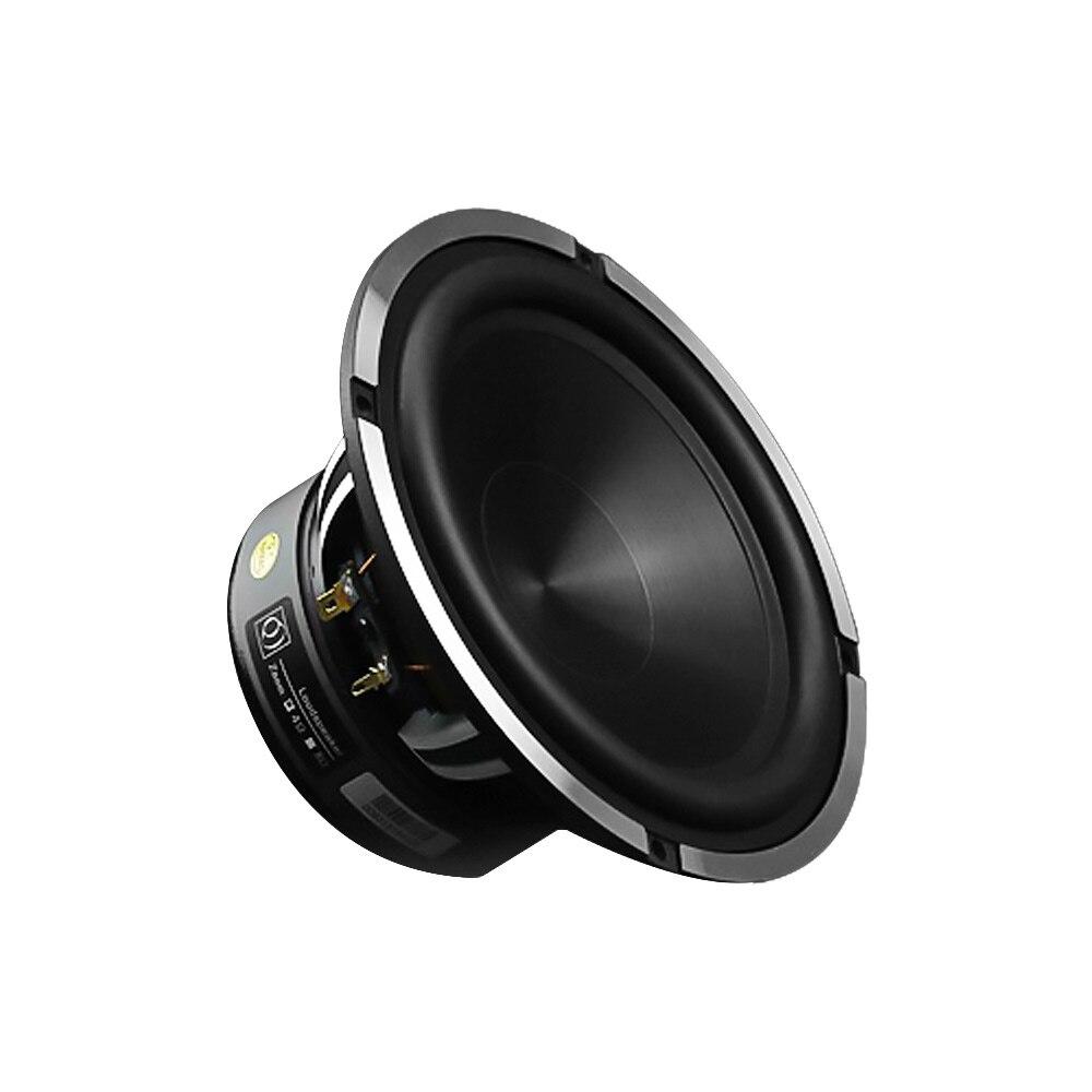 AIYIMA 6.5 Cal głośnik niskotonowy samochodowy Audio głośnik do muzyki kierowcy róg 4 Ohm 50W aluminium umywalka bas Auto nagłośnienia DIY system