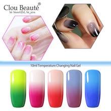 Clou Beaute Thermo Change żelowy lakier do paznokci Soak Off UV lakier żelowy do paznokci żel wyprzedaż temperatura lakier Lak długotrwały polski