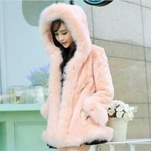 Новинка, женский жилет, искусственный мех, искусственный Лисий мех, пальто, Горизонтальная форма, тонкий жилет с подогревом, зимние женские пальто, роскошная верхняя одежда